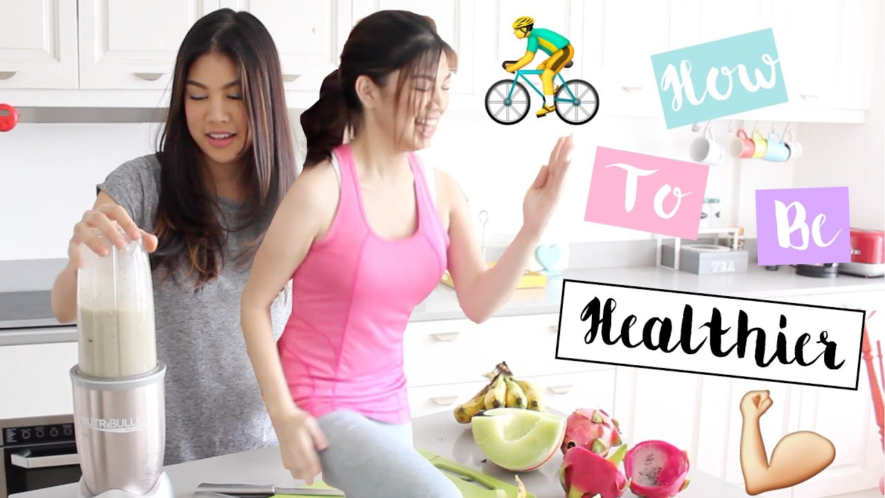 Tips to Have A Healthier Lifestyle + Healthy Snacks! | Janina Vela