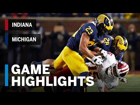 Highlights: Indiana at Michigan | Big Ten Football