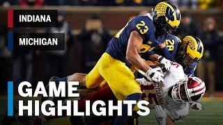 Highlights: Indiana at Michigan | Big Ten Football