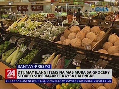 Presyo ng ilang bilihin sa supermarket at palengke, pinagkumpara ng GMA News