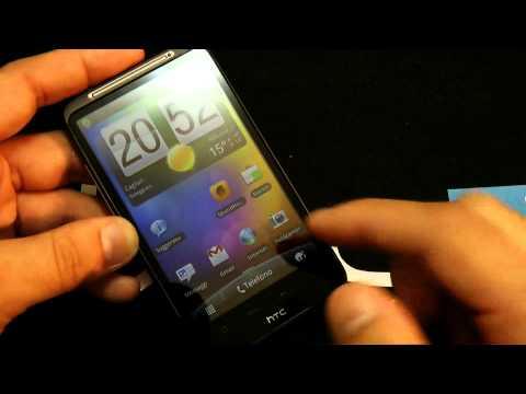 HTC Sense 2.1 Gingerbread 2.3.3 HTC Desire HD