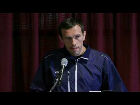 Pavel Datsyuk - Press Conference on Decision to Return to Russia