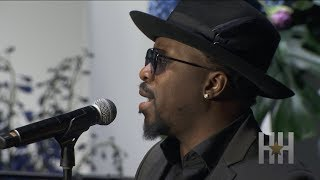 Anthony Hamilton Performs At Nipsey Hussle