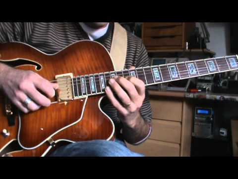 ibanez AF95 jazz licks & improvisacion