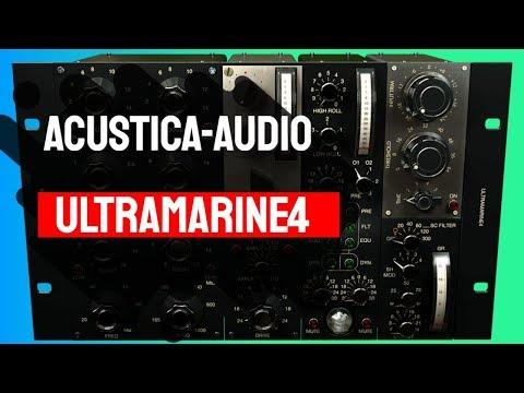 Testando mais um plugin da Acustica-Audio: Ultramarine4