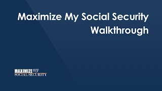Introduction to Maximize Mỳ Social Security