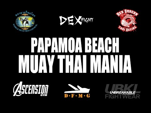 Muay Thai Mania Phil Patuwai VS Harley Walker