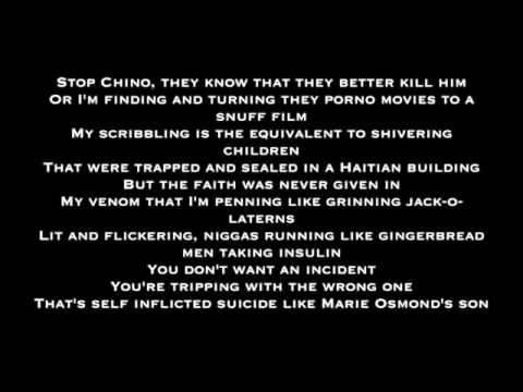 Chino XL - Bad Man Bible (with screen Lyrics)