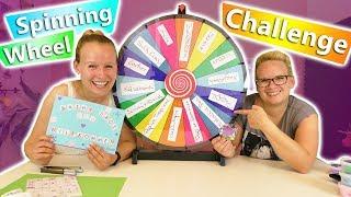 GLÜCKSRAD Challenge mit Bastel Material | Haben Eva & Kathi kreative Ideen? DIY Inspiration