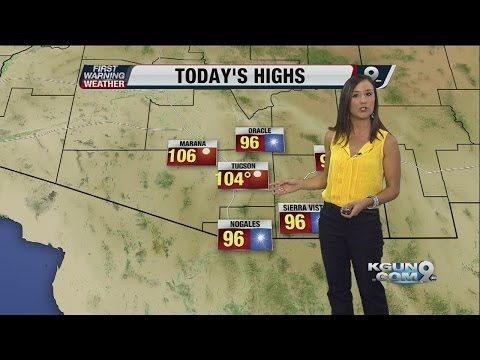First Warning Weather with Simone Del Rosario on Wednesday, June 25, 2014
