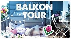 Balkon Tour I Deko Ideen & Tipps Tumblr & Pinterest inspiriert I Vlog