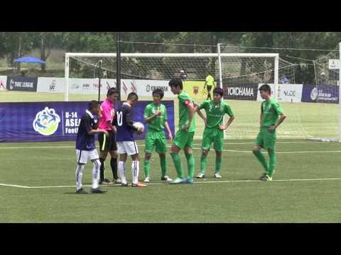 U-14 ADFT 2016/17 Match TOKYO Verdy VS Cambodia Football Academy
