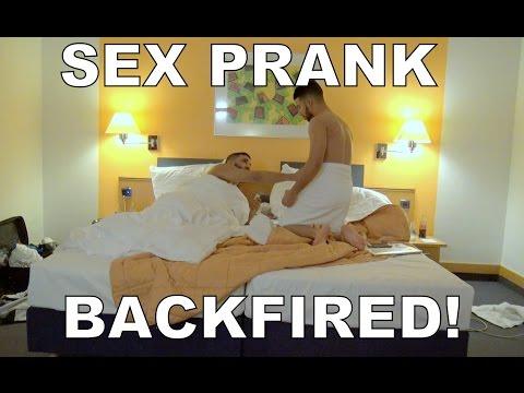 SEX PRANK BACKFIRED!