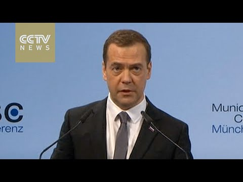 Medvedev says Russia, West sliding into new cold war