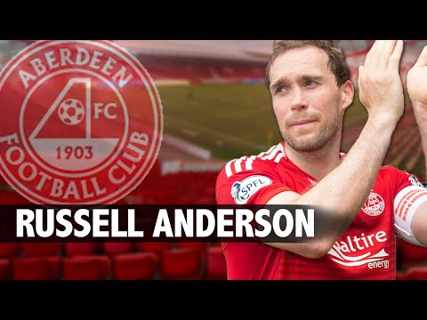 Scottish Football Legends - Russell Anderson