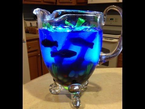 Fish bowl jello youtube for Does swedish fish have gelatin