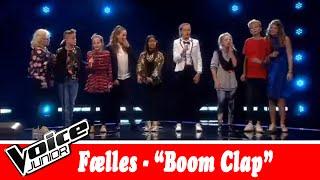 Fællessang: Charli XCX – 'Boom clap' – Voice Junior / Kvartfinale