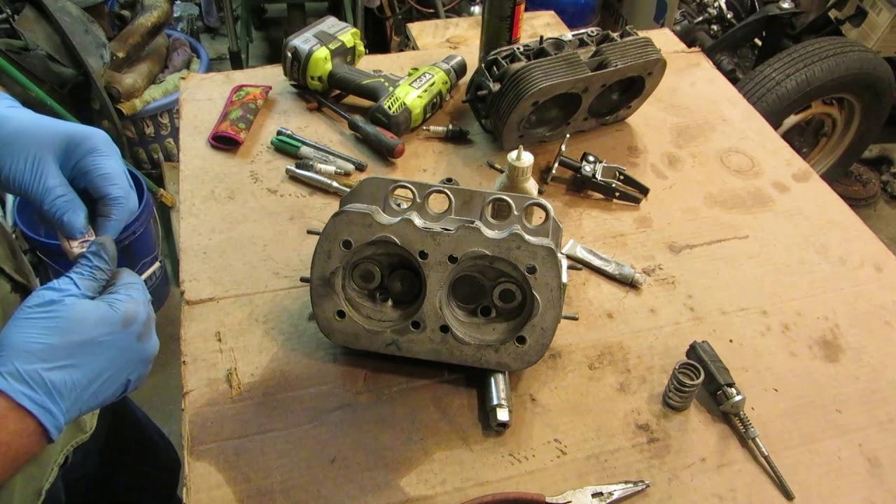VW Beetle cylinder heads part 2