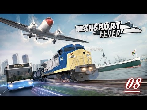 "Shroomworks Plays - Transport Fever Ep #8 ""Electrification & The Cash Cow"""