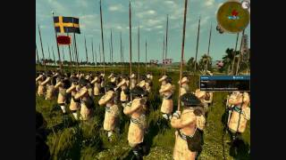 Empire Total War Online Battle #7: Sweden vs USA