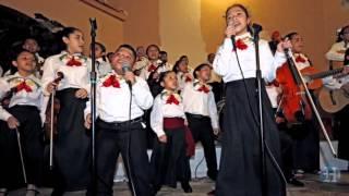 "Children of the Miami Mariachi Conservatory perform ""Feliz Navidad"""