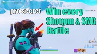 New SECRET PRO Strategy To Win Shotgun/Smg Fights In Fortnite (Crouch Swinging) (how to win scrims)