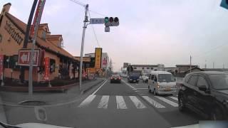 熊谷市 17号 下り 熊谷警察署 ⇒ 久保島 17号BP合流 間 【車載」動画】