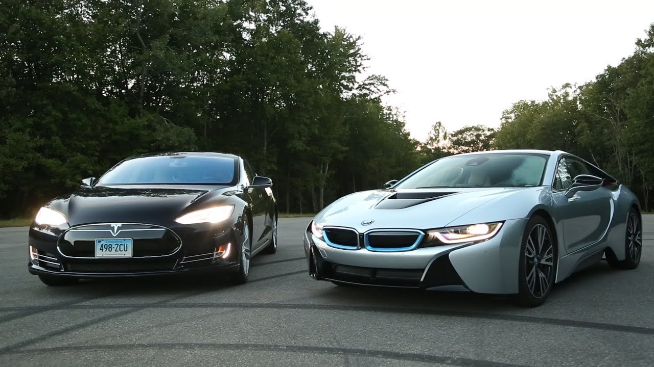 Bmw I8 Vs Tesla Model S Consumer Reports Youtube