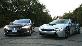 BMW i8 vs. Tesla Model S | Consumer Reports