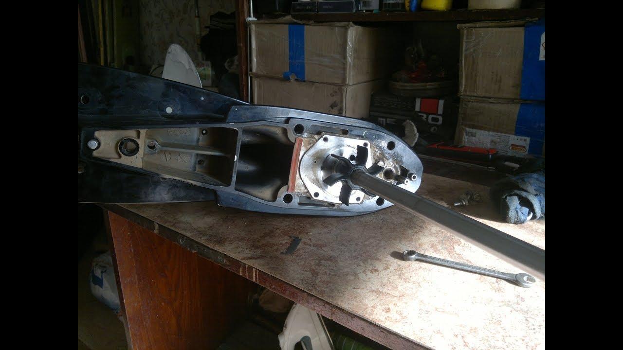 Ремонт Repair Редуктор Reducer Mercury F40 Е EFI
