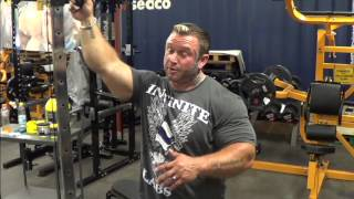 Bodybuilder Lee Priest talks about his face tattoo