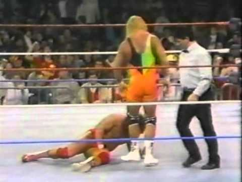 Mr Perfect vs Jim Powers WWF 1990
