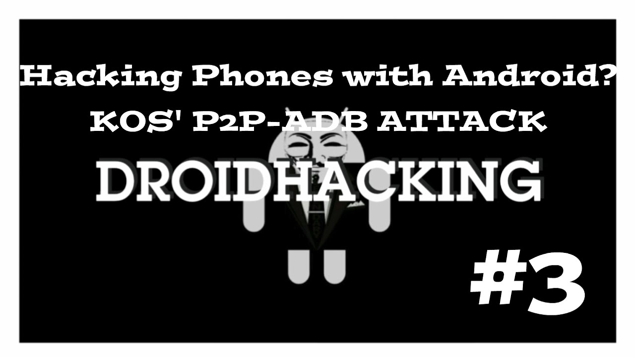 How to UNLOCK someone's PHONE using P2P-ADB || DroidHacking