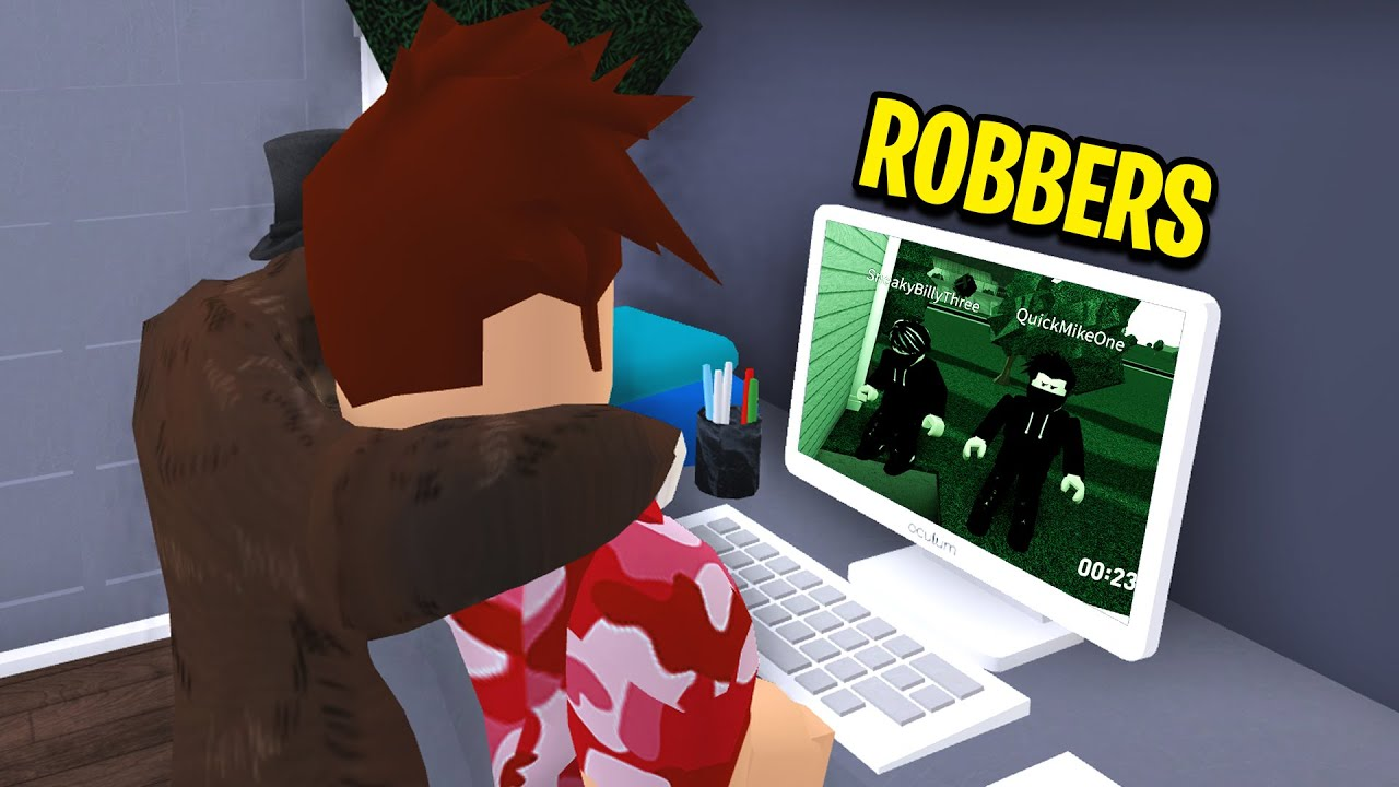 I Set Up BLOXBURG CAMERAS, What It CAUGHT Will Shock You! (Roblox) thumbnail