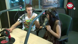 IRINA RIMES & THE MOTANS live la Kiss FM cu Johnny si Soci