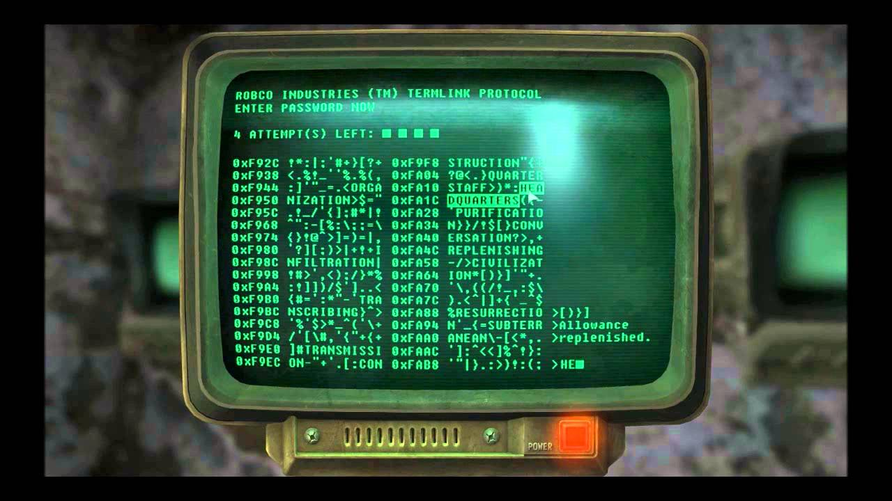 fallout 3 hacking computers tips and tricks youtube