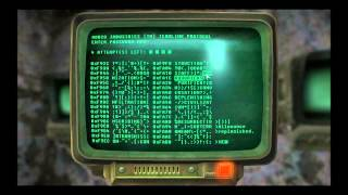 Fallout 3 hacking computers tips and tricks