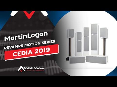 MartinLogan Revamps Motion Series Loudspeakers