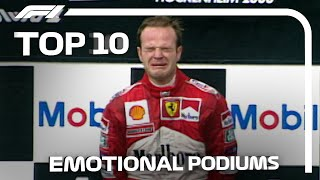 Top 10 Emotional Podiums