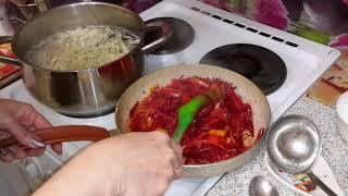 Секрет красного борща и терки для моркови по корейски.