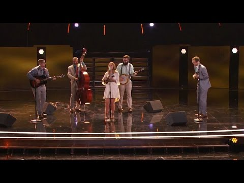 America's Got Talent 2015 S10E10 Judge Cuts - Mountain Faith Band Bluegrass Band