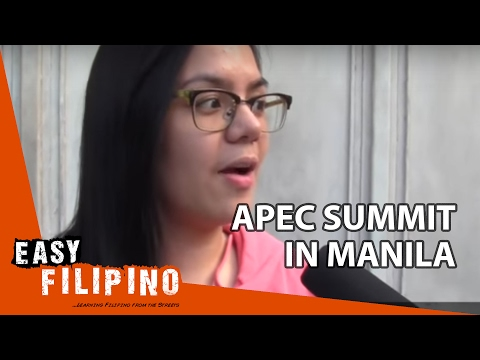 Easy Filipino 14 - World leaders at APEC Summit in Manila