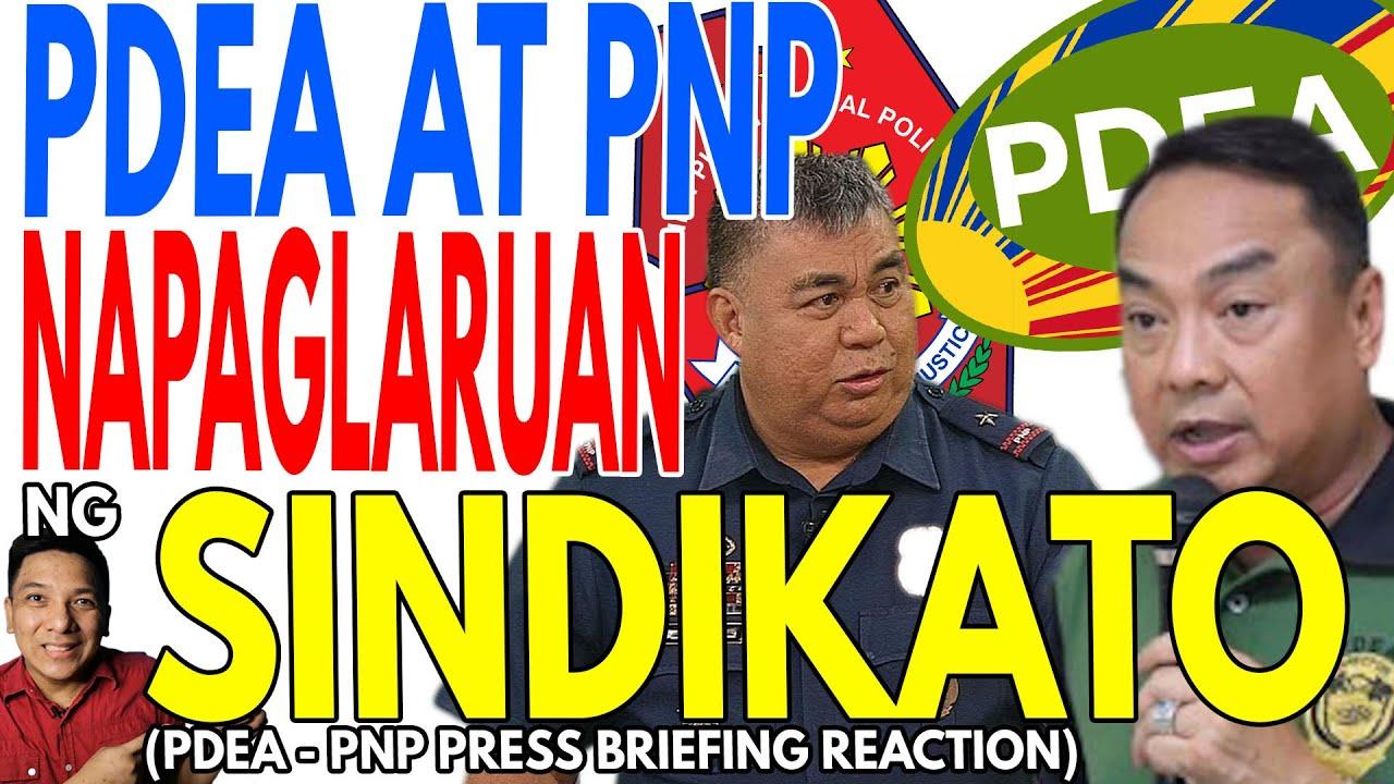 PDEA AT PNP NAPAGLARUAN NG SINDIKATO?! | MAS MARAMING TANONG KESA SAGOT ANG NAKUHA SA PRESS BRIEFING