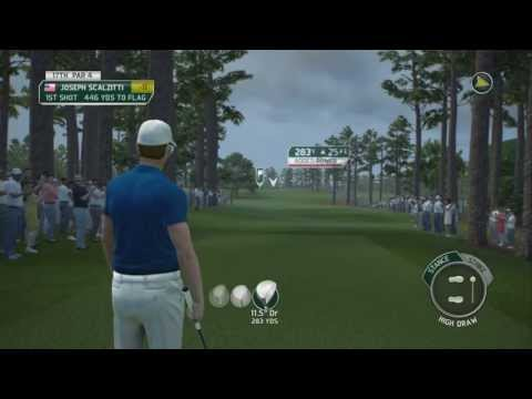 Tiger Woods 14 Simulation Career Gameplay Walkthrough Part 43 - The Masters Final Round 4