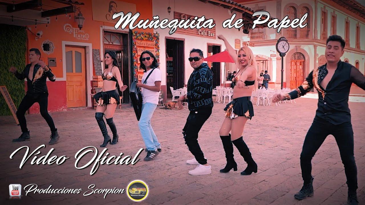 Muñequita de Papel 💖 Los Tepoz ft Los Pipopes 💥 Video Oficial HD 💯