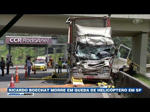 Ricardo Boechat morre em queda de helicóptero em São Paulo