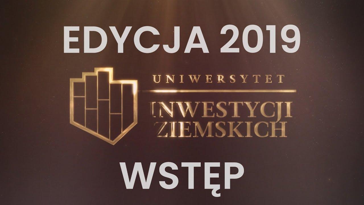 Wstęp do inwestycji w grunty - Gustaw Marek Brzezin - #UIZ 2019