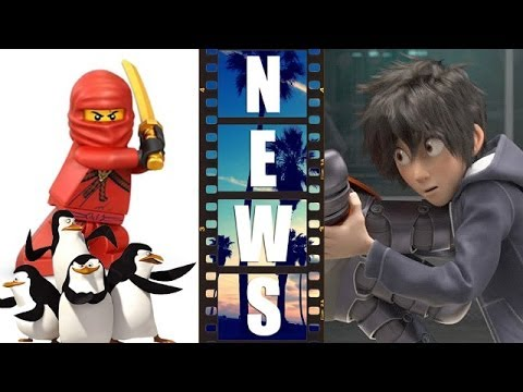 Ninjago Movie 2016, Big Hero 6 First Look, Penguins of Madagascar ...