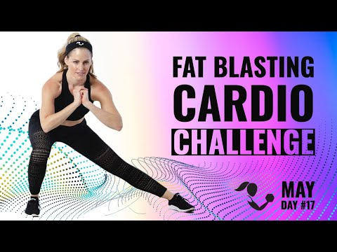 35 Minute Fat Blasting Cardio Challenge HIIT Workout