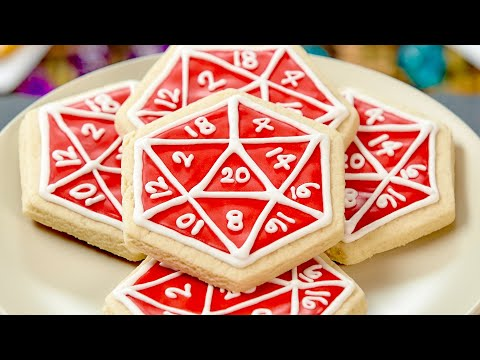 Download D20 COOKIES WITH FELICIA DAY - NERDY NUMMIES Images